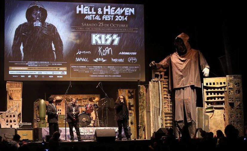 El jueves se dio a conocer parte de la cartelera del festival de rock a realizarse el 25 de octubre. (Notimex)