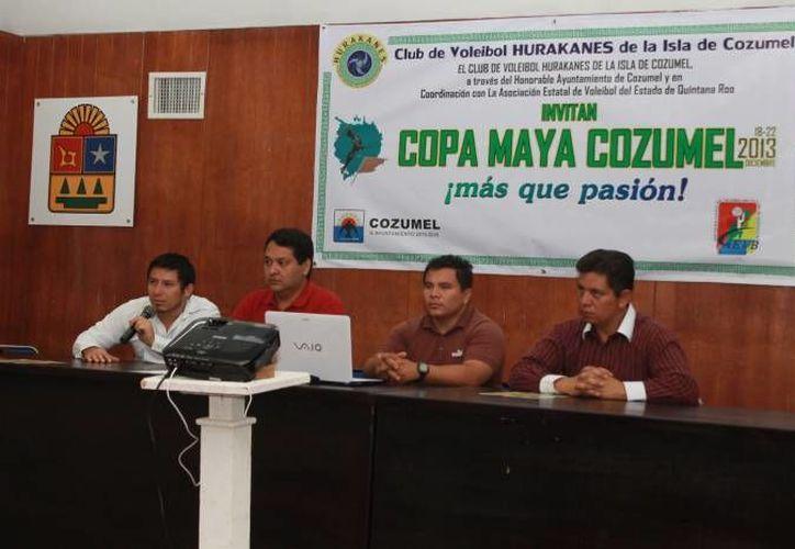 """El evento es organizado por el Club de Voleibol """"Hurakanes"""" de Cozumel. (Redacción/SIPSE)"""