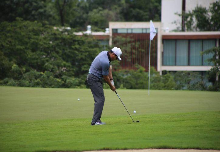 Segundo día de actividades de la décima edición del torneo de golf. (Israel Leal/SIPSE)