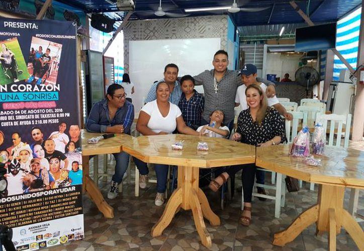 Anunciaron que el festival musical es para recaudar fondos para la operación de dos jóvenes. (Jocelyn Díaz/SIPSE)