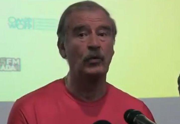 Vicente Fox dijo que los ex mandatarios viven en una situación de mayor riesgo. (excelsior.com)