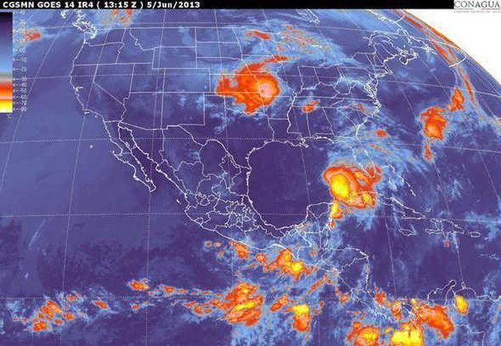 Sube a 50 por ciento la probabilidad de que se convierta en ciclón según el SMN. (smn.conagua.gob.mx)