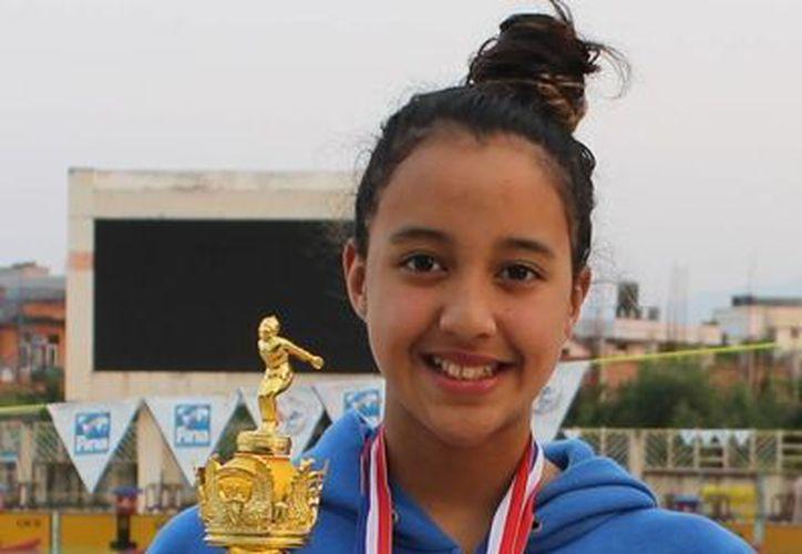 Gaurika Singh será la deportista con menor edad en Río 2016. Solo tiene 13 años. (news-nepal.com)