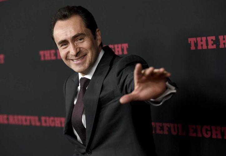 Demian Bichir participó en la nueva cinta del director estadounidense Quentin Tarantino 'The Hateful Eight', la cual expone las tensiones raciales de los años que siguieron a la Guerra Civil de Estados Unidos, un tema que resuena con la actualidad de Estados Unidos. (AP)