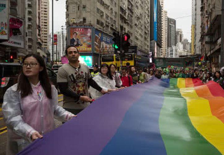 Hong Kong es la primera ciudad asiática que acogerá los Juegos Gay. (Foto: AFP)