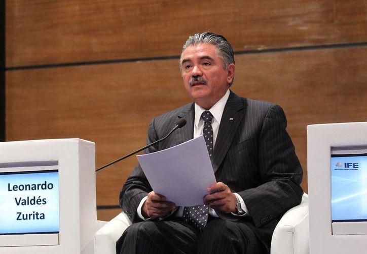 Valdés Zurita señaló que ya se verifican más de mil 100 cambios de domicilio. (Notimex)
