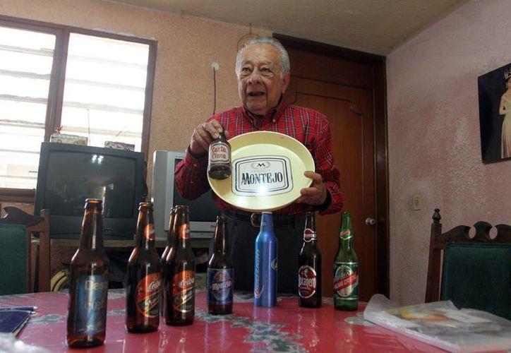 Mariano López Gil presentará la quinta edición de su libro sobre la historia de la Cervecería Yucateca. (Amílcar Rodríguez/Milenio Novedades)