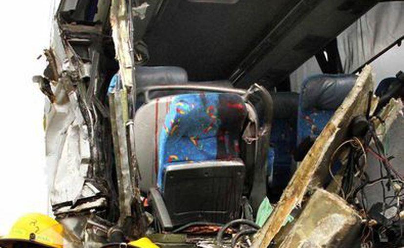Ya se investigan las causas del accidente ocurrido en Veracruz. (Imagen de contexto/Notimex)