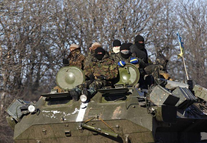 La ONU lamentó que a pesar del anuncio del alto al fuego persistan los enfrentamientos en el este de Ucrania. (AP)