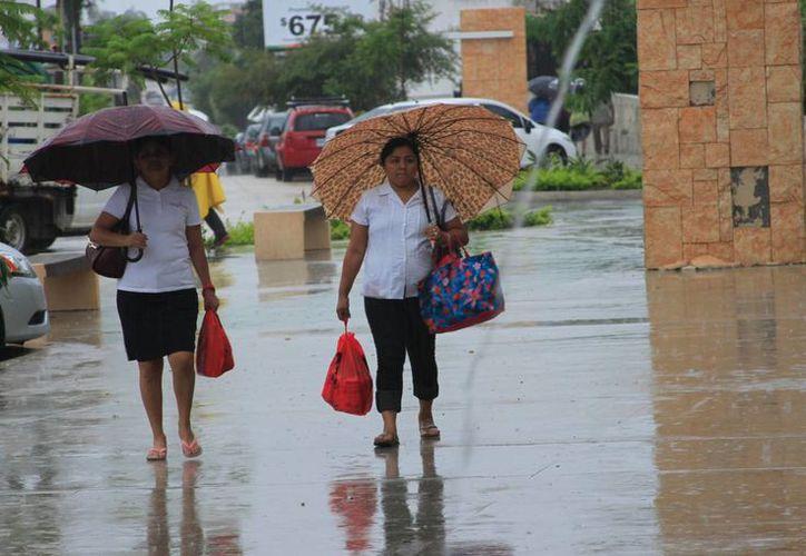 Hay una probabilidad de lluvias del 60 al 80% para Chetumal. (Ángel Castilla/SIPSE)