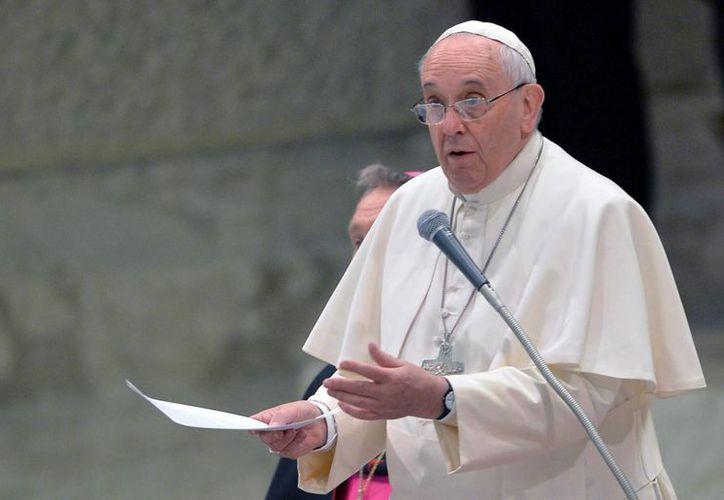 El Papa Francisco dijo que todos, incluso él, 'vamos hacia el camino de la aniquilación existencial'. (EFE/Archivo)