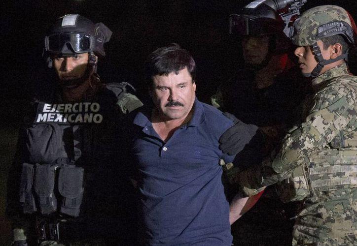 La defensa de 'El Chapo' ha denunciado constantemente que su cliente es objeto de malos tratos que le provocaron serios problemas de salud, entre ellos paranoia, desmemoria e incluso depresión. (Archivo/Agencias)