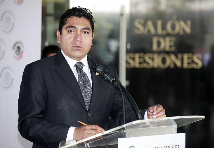 José Luis Preciado negó las acusaciones de soborno que hizo en su contra su ex vicecoordinador  José María Martínez. (Notimex)