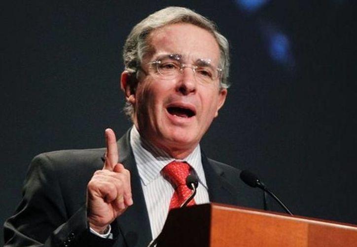 Uribe no ofreció declaraciones al respecto. (Agencias)