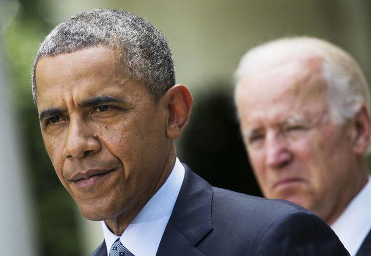 Obama dijo que el viernes se darán a conocer los detalles de las nuevas sanciones de EU contra Rusia. (AP)