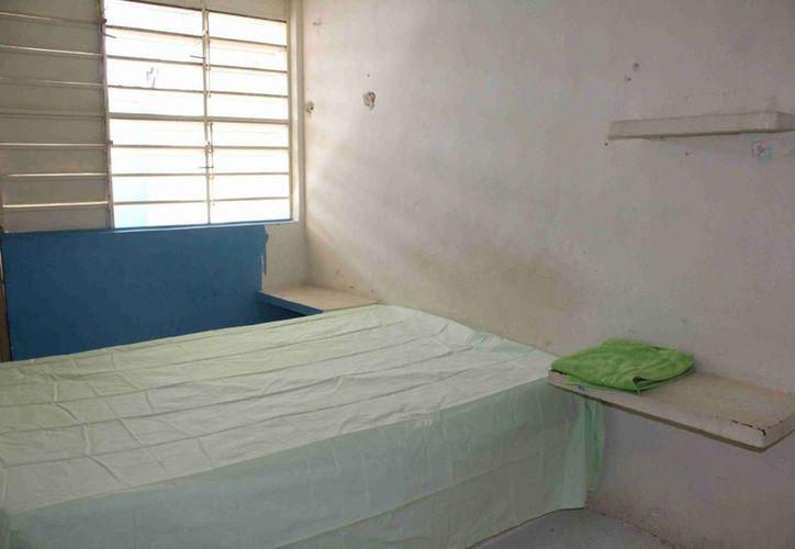 El penal de Mérida cuenta con 32 espacios para la convivencia íntima de los reos con sus parejas. (Notimex)