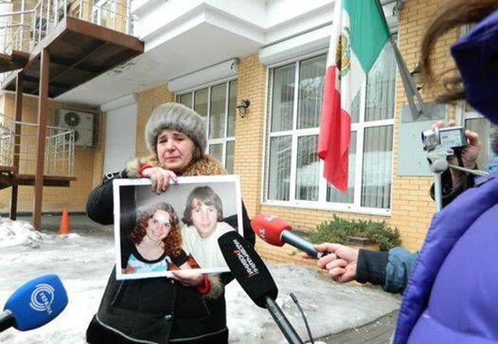 La mamá de Maryna Burakova se convirtió en incansable activista para dar con el paradero de su hija desaparecida en Yucatán. Finalmente se supo que murió. (Facebook)