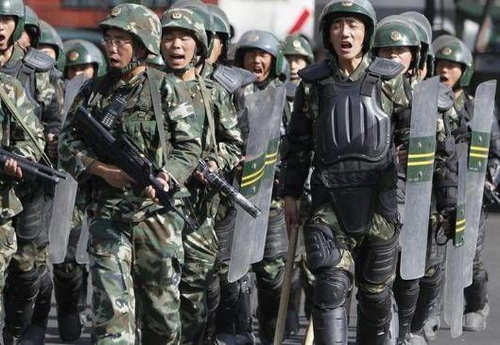 El ejército territorial tiene 18 cuerpos agrupados en siete mandos militares distritales. Imagen de contexto. ( Internet)