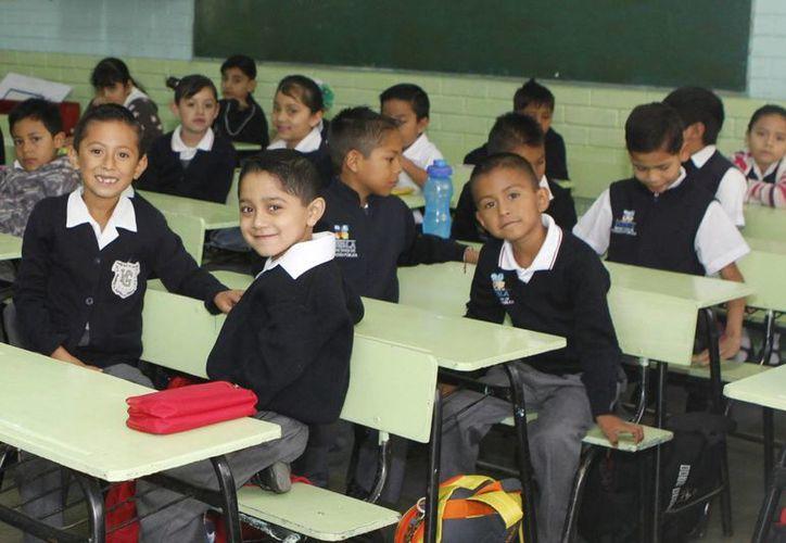 Inicia el periodo de receso de clases, de acuerdo con el Calendario Escolar. Imagen de un salón de clases de primaria. (Archivo/Notimex)