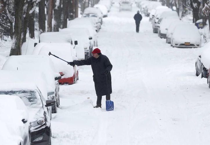 En el estado de Minessota se suspendieron las actividades escolares hasta que los efectos de la tormenta invernal se aminoren. (Agencias)