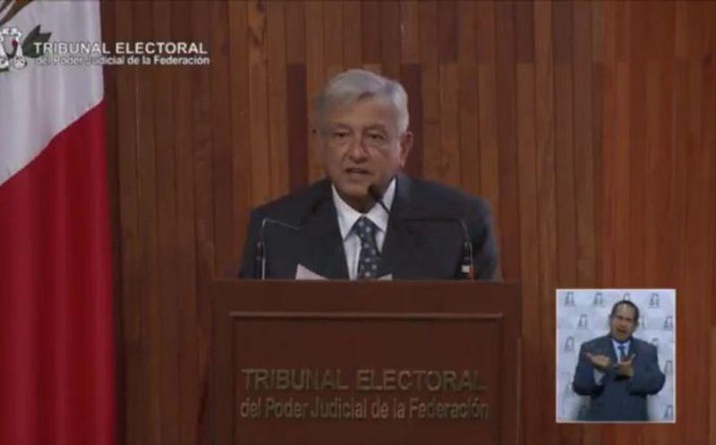 López Obrador presentará el 1 de diciembre reformas contra corrupción