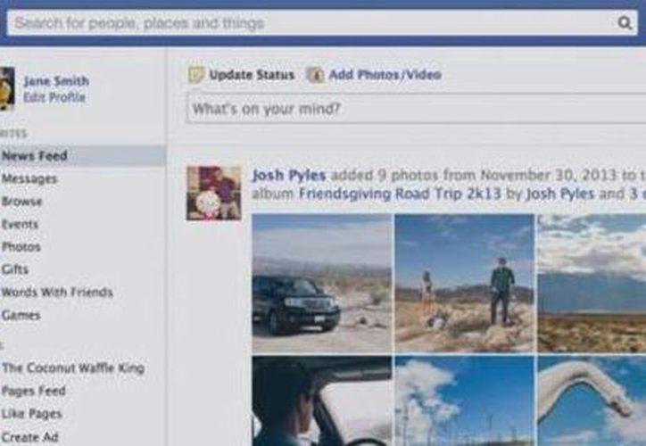 Así se mostrarán los temas más comentados del momento en la red social. (Facebook)