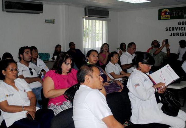 Se capacitaron 25 médicos de diferentes municipios del estado. (Redacción/SIPSE)