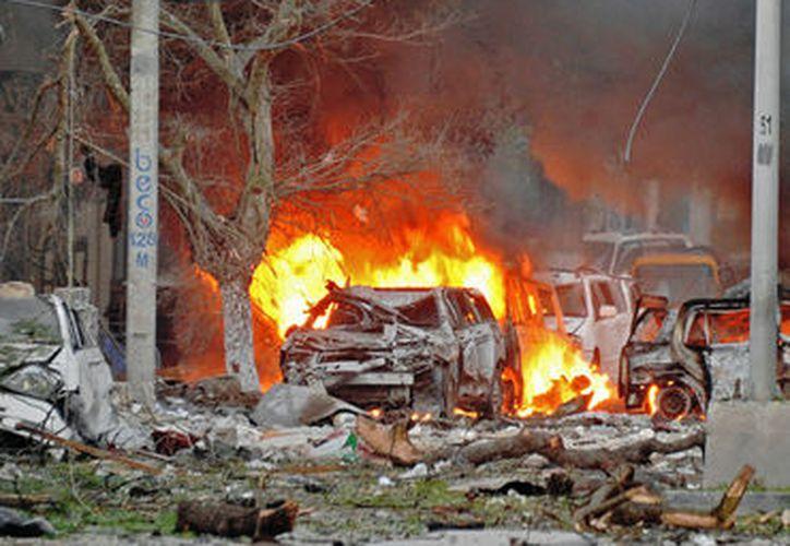 Hasta ahora nadie ha reivindicado el atentado con coche bomba. (Contexto/Internet)