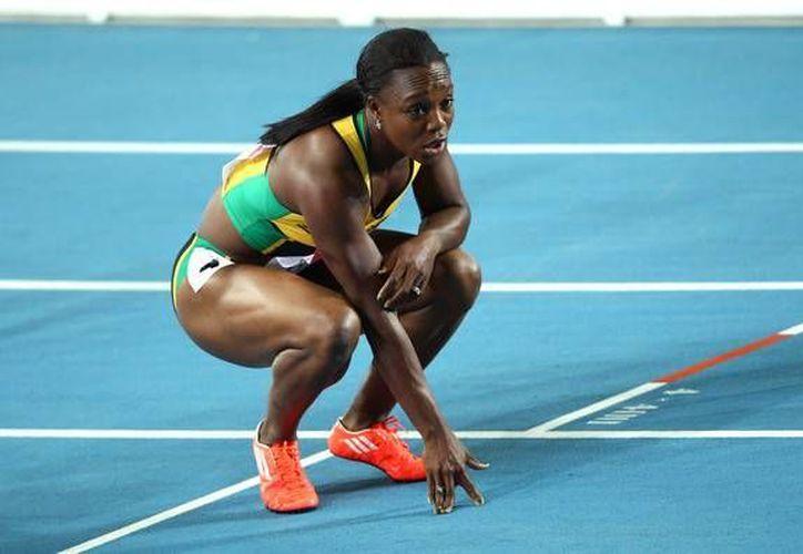 La velocista Verónica Campbell Brown es una de las máximas figuras a seguir por parte de Jamaica en los Juegos de Río 2016. (zimbio.com)