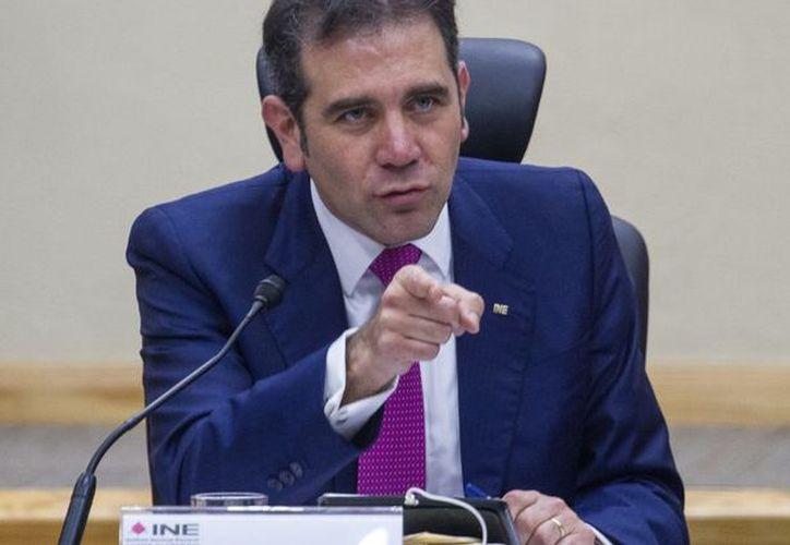 Lorenzo Córdova Vianello, presidente consejero del INE (Contexto/Internet).