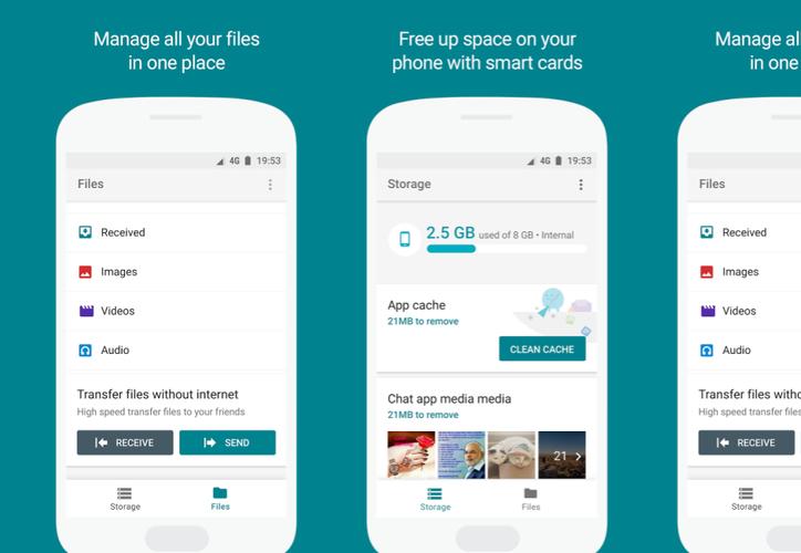 Google tiene una aplicación gratuita que ayuda a liberar la capacidad de tu dispositivo. (Foto: 9to5Google)
