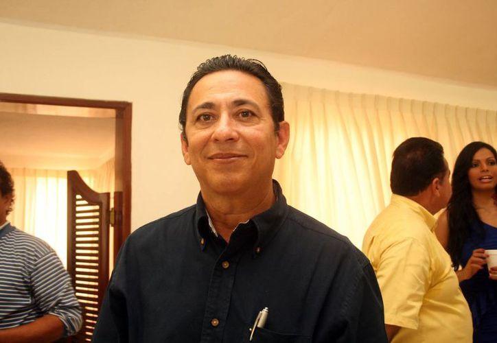 Rubén Coronado Alcocer acudió al Segundo Foro Internacional de las Méridas del Mundo. (Milenio Novedades)