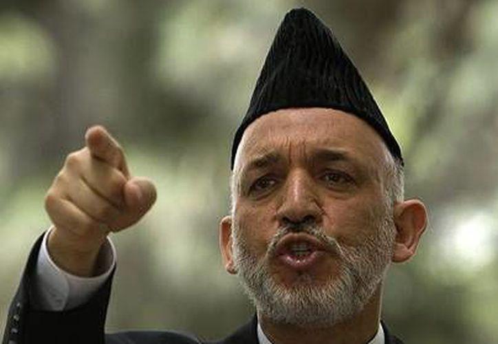 La decisión del presidente Hamid Karzai parece haber sorprendido a EU. (www.telegraph.co.uk/Archivo)