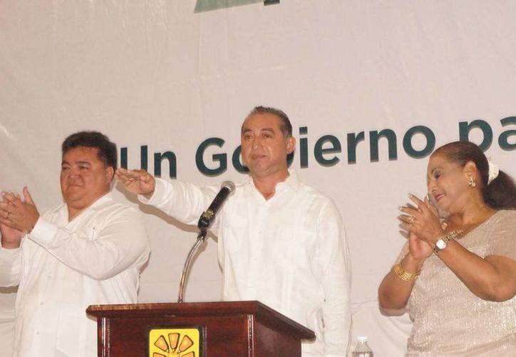 Juan Parra López les reiteró a los morelenses con claridad, su compromiso de gobernar para el bienestar de todos. (Redacción/SIPSE)