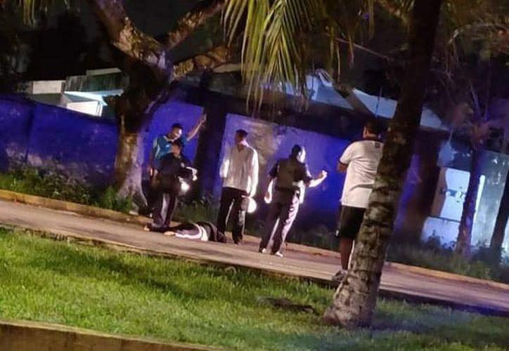 el domingo 17 de junio fue localizada tirada sobre el pavimento, varios días después fallece. (Gustavo Villegas)
