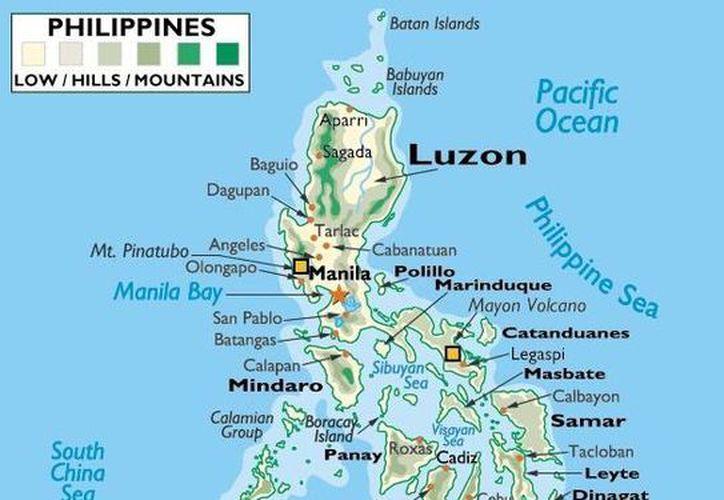 La zona de islas de los Batanes, al norte, es donde se produjo el sismo.  (embafil.com)