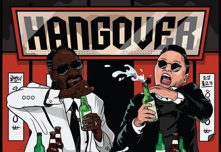 Junto con el video se pudieron a la venta algunos artículos temáticos de 'Hangover'. (allkpop.com)