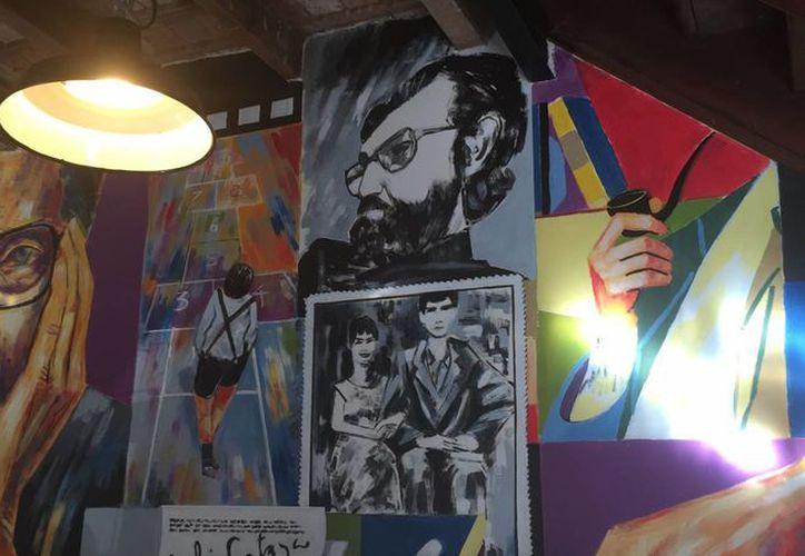 El bar 'Julio Cortázar' está ubicado en la la esquina de Medrano y Cabrera, en el barrio de Palermo de Buenos Aires, ciudad a la que el escritor tuvo gran cariño. (Notimex)