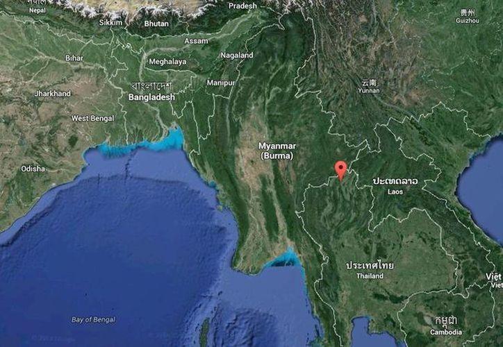 El epicentro del terremoto se registró a 9 kilómetros al sur de Mae Lao, en Tailandia. (Google Maps)