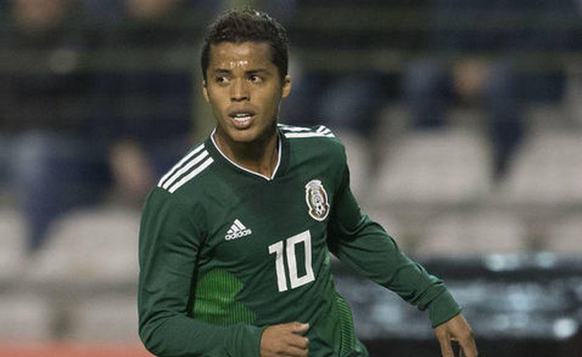 Giovani Dos Santos estará ausente en el partido amistoso contra Polonia. (Imago7).