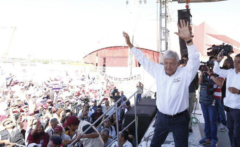 López Obrador rechazó hacer un llamado a Amieva. (Milenio)