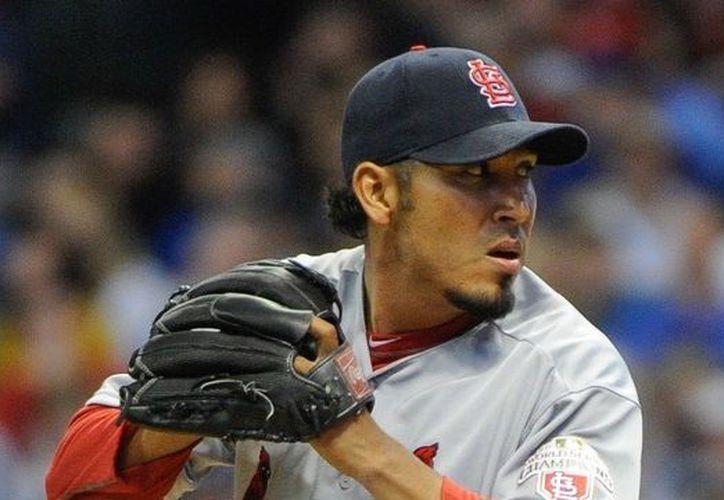 Fernando Salas es uno de los 12 lanzadores que integran los Angelinos de Los Ángeles. (Contexto/Internet)