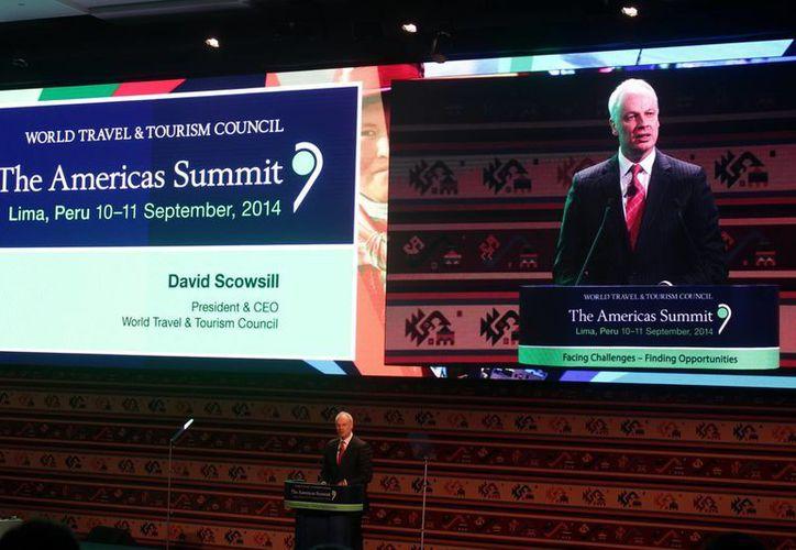 """La Cumbre Regional de Turismo """"WTTC Americas Summit"""" se celebra en Perú. (Sthepani Blanco/SIPSE)"""