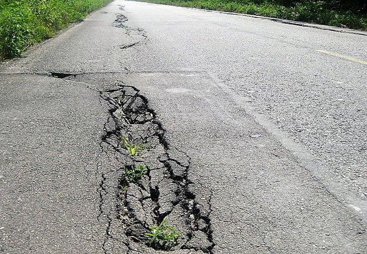 Los pobladores denunciaron anteriormente el problema, pues ya se habían presentado accidentes, pero ninguna había sido tan grave. (Javier Ortiz/SIPSE)