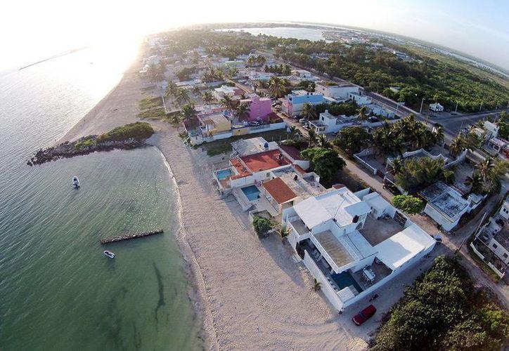 Se reportó un avance de casi 100 por ciento en la conservación y mitigación de la erosión de playas en el tramo entre Chuburná Puerto y Yucalpetén. (Cortesía)