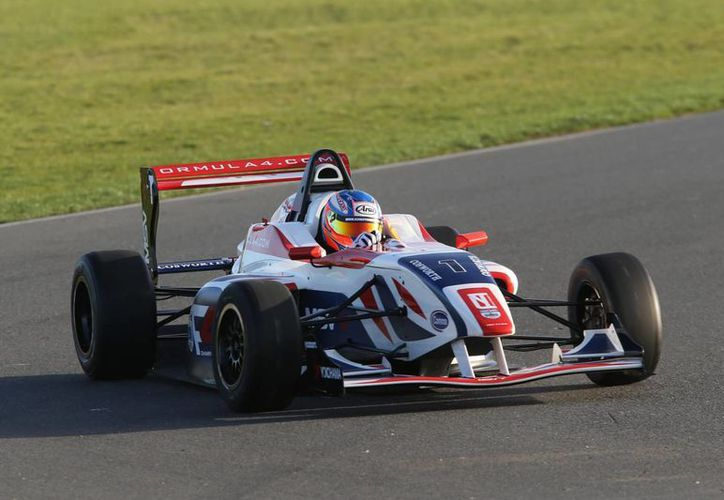 Una competencia de 20 vehículos de Fórmula 4 se realizará en el marco del Gran Premio de F1 en México, del 30 de octubre al 1 de noviembre. (formula4.com)