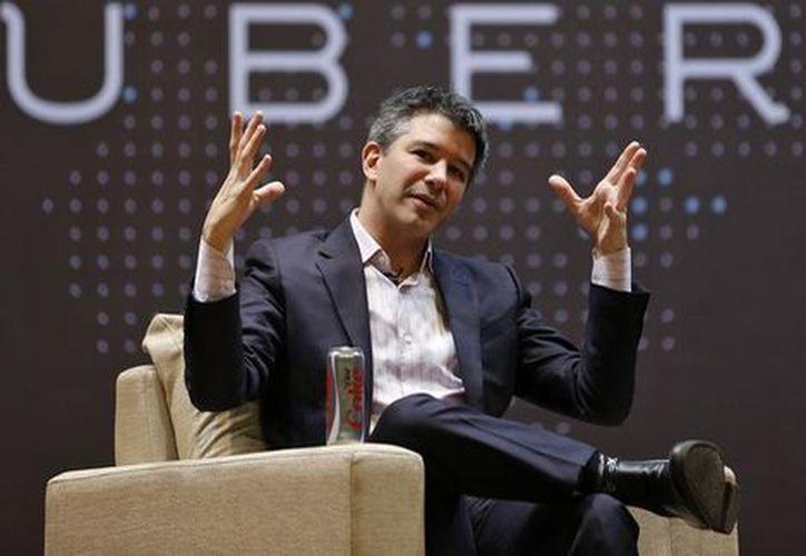 El equipo de conducción se hará cargo de la empresa de taxis por internet durante el periodo durante el que Kalanick se ausente. (Reuters)