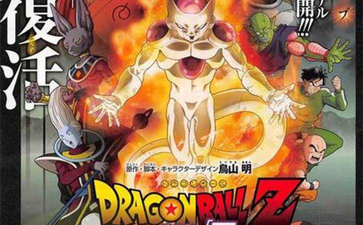El primer póster de la nueva película de Gokú, Dragon Ball Z: Fukkatsu no F. (Agencias)