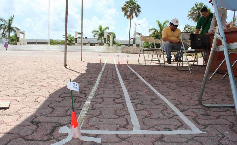 La colecta se realizó en la plaza cívica 28 de Julio. (Adrián Barreto/SIPSE)