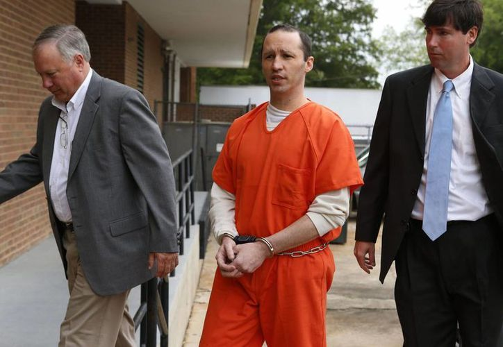 James Everett Dutschke fue sentenciado por la jueza de distrito Sharion Aycock en Aberdeen después de cambiar de parecer sobre retirar su declaración de culpabilidad. (Foto: Northeast Mississippi Daily Journal, Thomas Wells/AP)